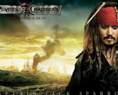 Wallpapersxl Texture Foto Sfondo Nero Nature Pirati Dei Caraibi Jack Sparrow Il Mare Film 978175 1920x1080